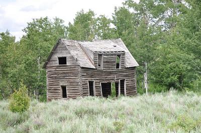 Old Idaho Homestead near Ashton, Idaho. 6.09