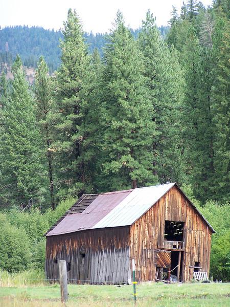 Barn north of Salmon, ID. 9.1.08