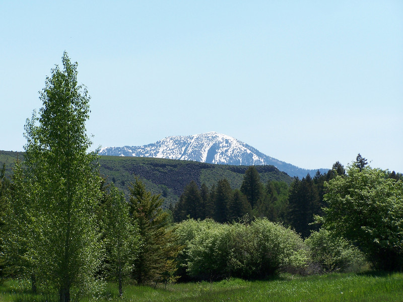 Mountain scene near Swan Valley, ID