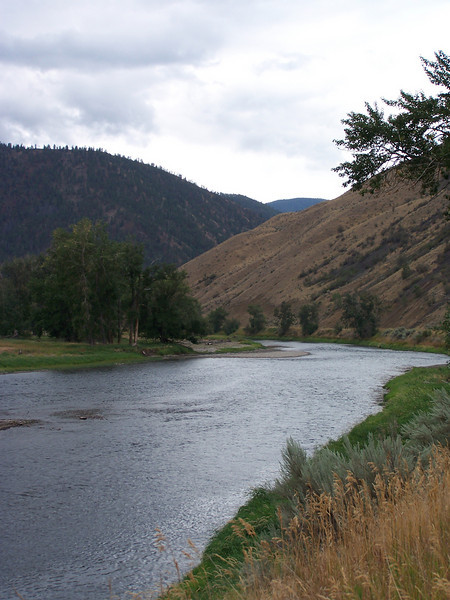 Salmon River, near North Fork, Idaho. 9.1.08