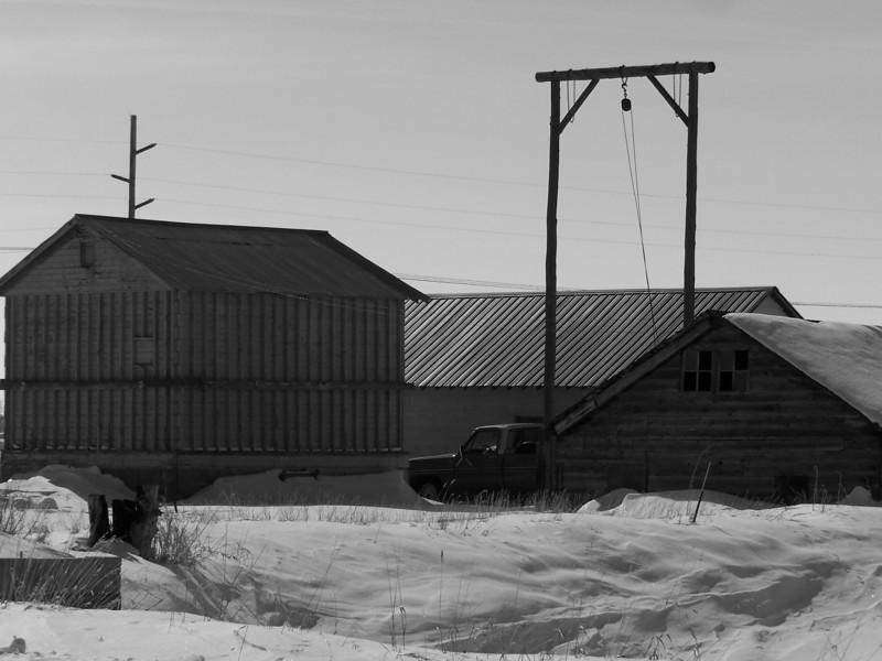 Outbuildings near Ririe, Idaho