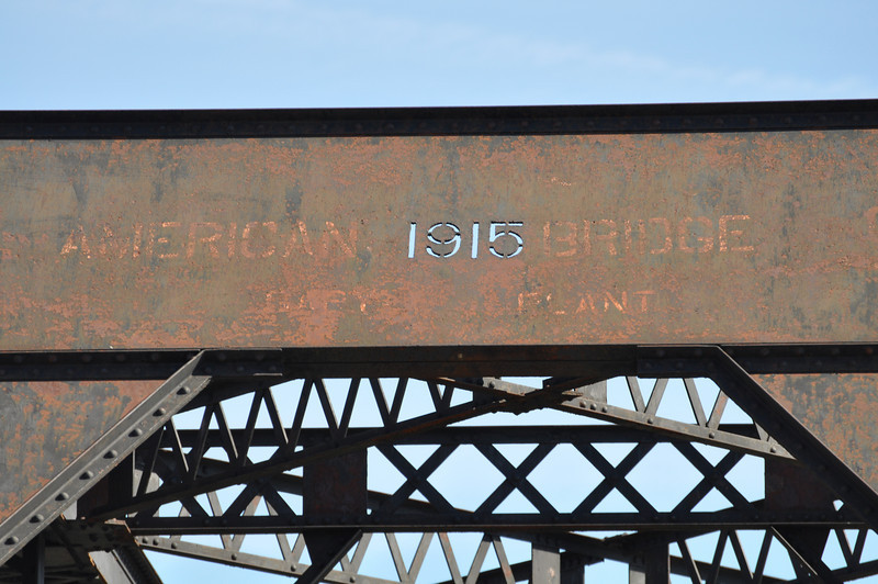 In the year 1915.....<br /> I never noticed before that the date is actually cut out rather than a painted template.<br /> Lorenzo Bridge, Idaho. 4.09