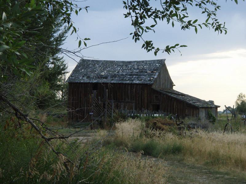 Rural Idaho Barn, Idaho Falls, 8.08