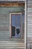 Old broken window detail.  Rexburg, Idaho. 4.09