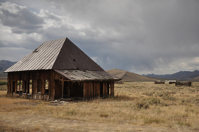 Old west homestead near Antelope Pass, Iron Bog area near Arco, Idaho. 9.4.11