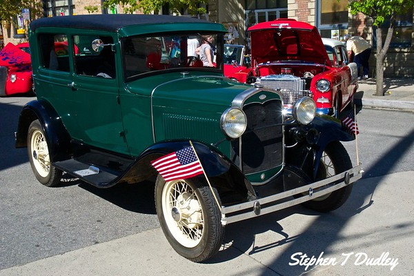 Lost in the 50's Classic Car Show, Sandpoint, ID