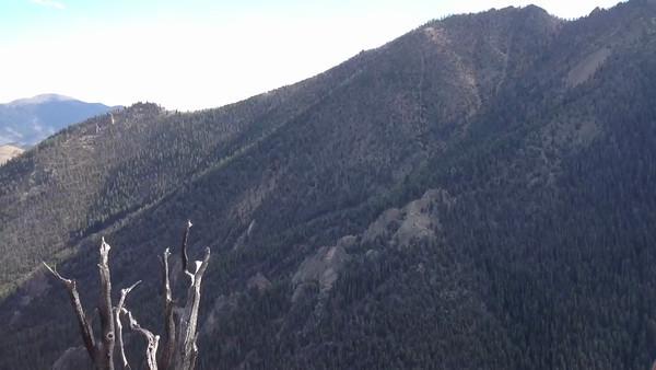View of the Lost River Mtn range near Mackay, Idaho. 9.12