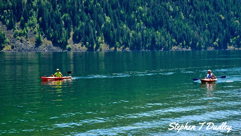 kayakers on Buttonhook Bay