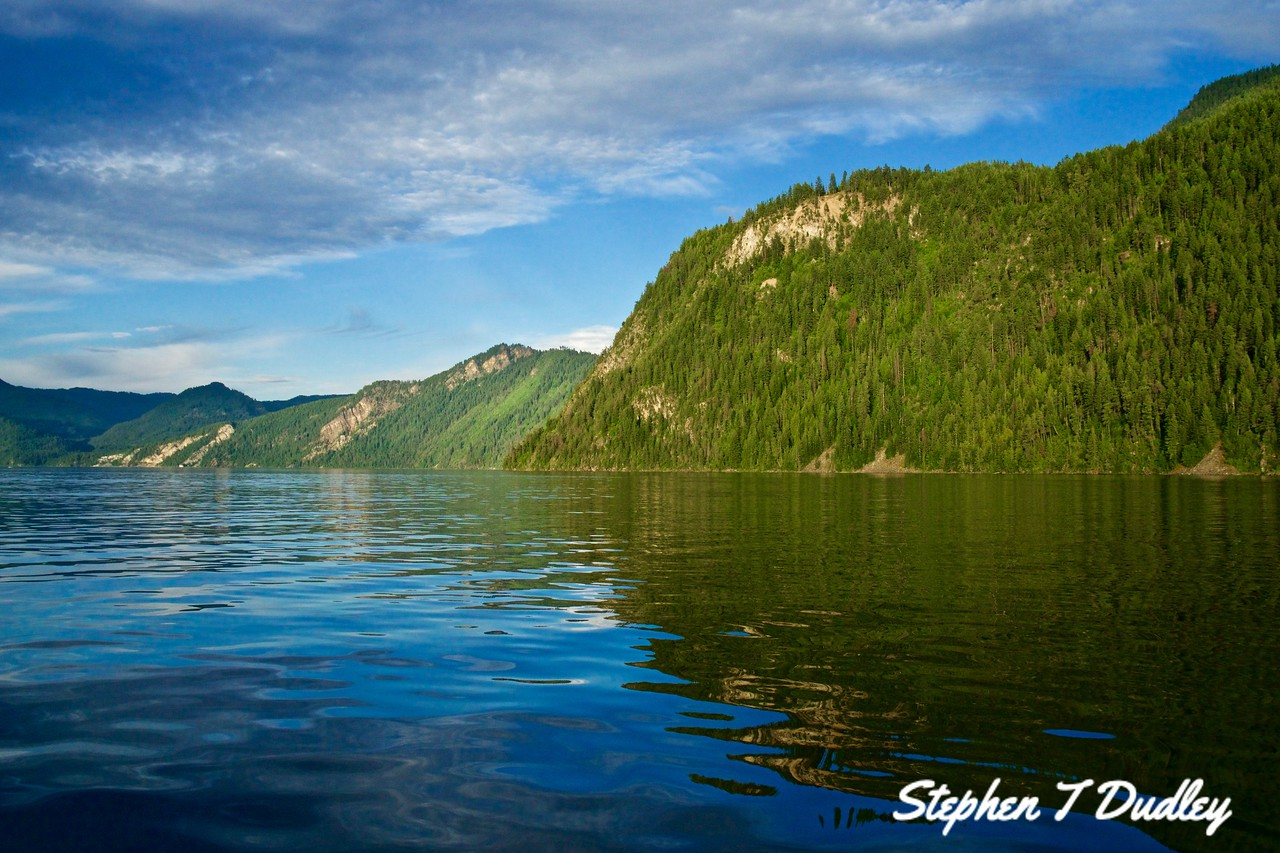 South shore of Lake Pend Oreille