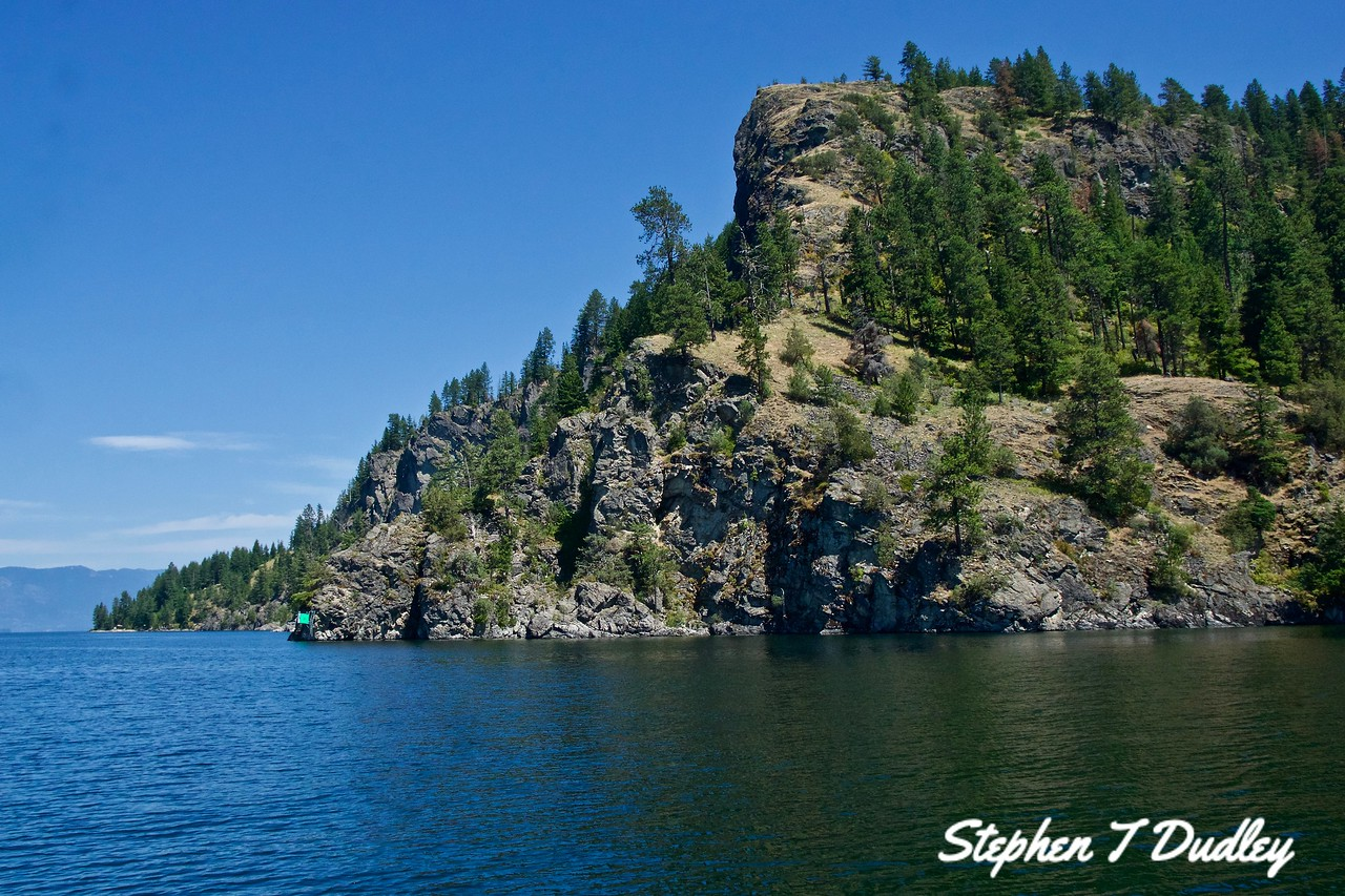 Lake Pend Oreille, SE of Clark Fork