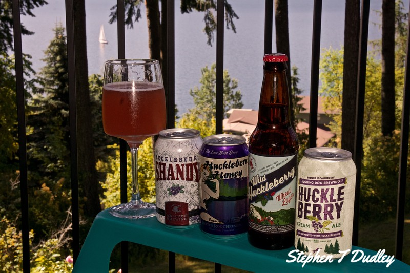 Local Huckleberry beverages