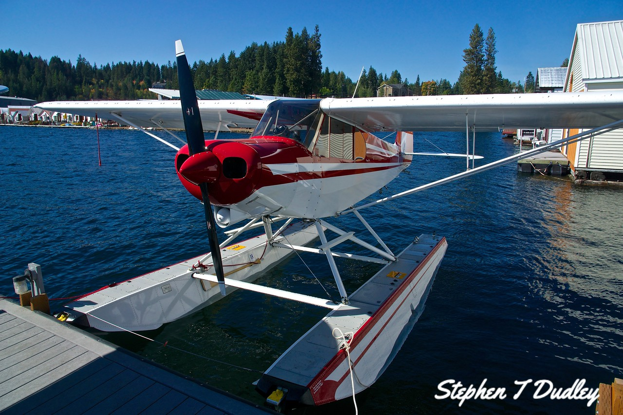 Cessna on floats, Bayview