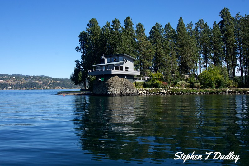 House on a Rock, Lake Coeur d'Alene