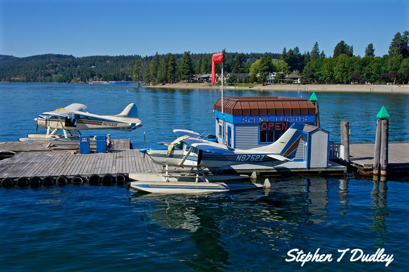 Float Planes, Lake Coeur d'Alene