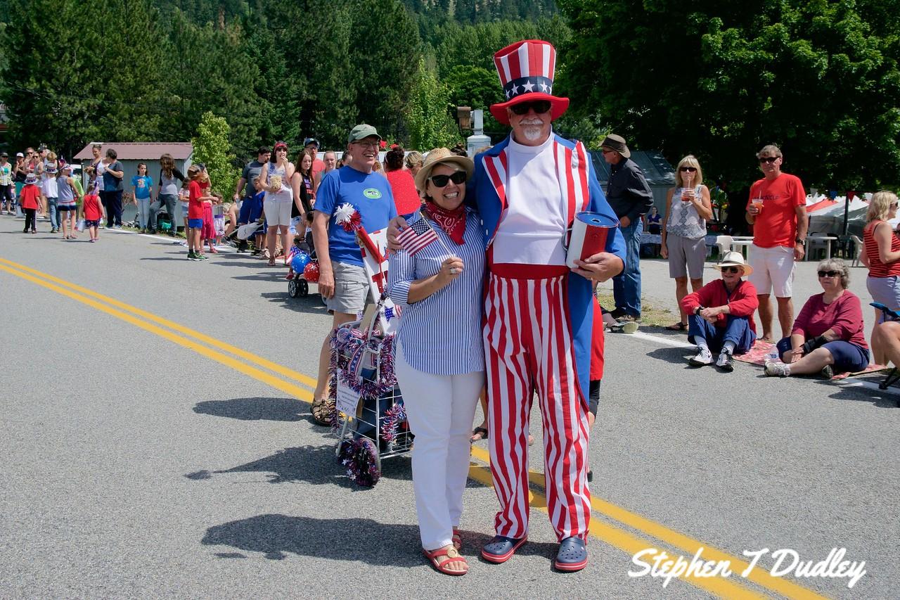 Bayview Daze Parade, Uncle Sam 2017