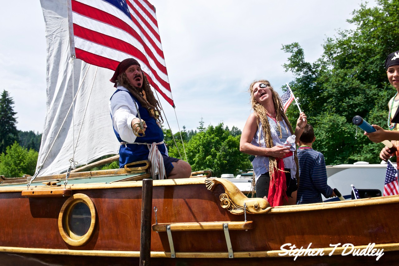 Bayview Daze Pirate float 2017