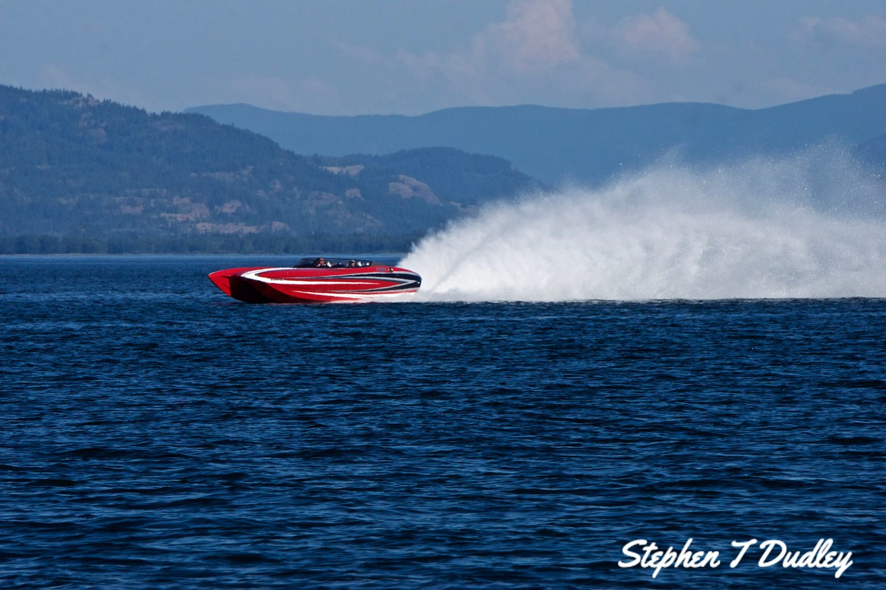 Racing Boat 2, Lake Pend Oreille