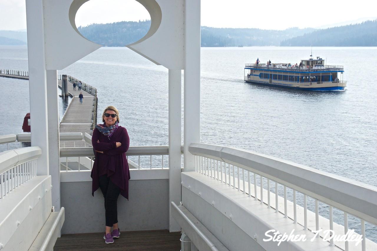 Lake Coeur d'Alene tour boat