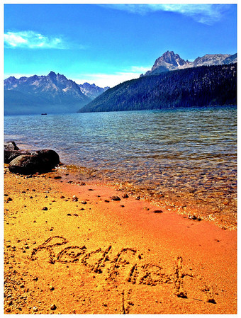 Redfish Lake, Stanley Idaho