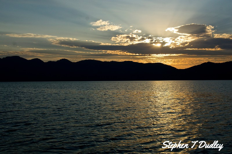 Sunset, Lake Pend Oreille