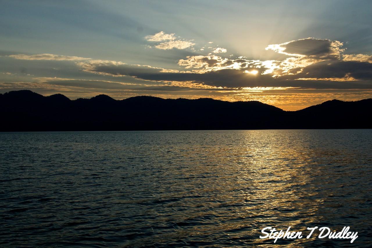 Sunset, Lake Pend Oreille