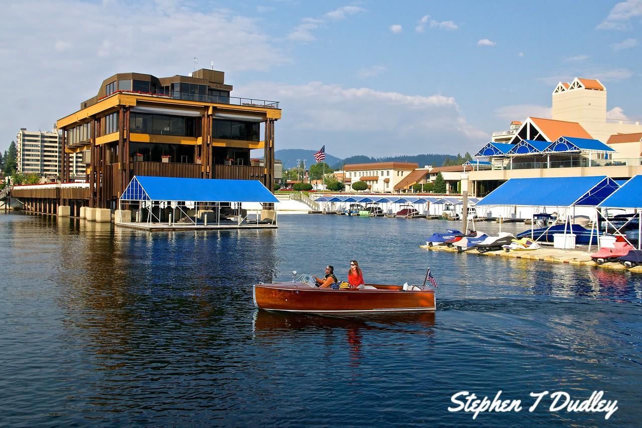 Wooden Boat,  Lake CDA Resort