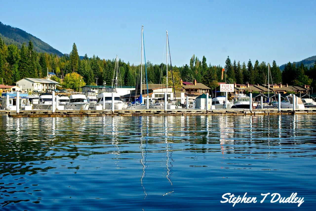 Marina at Hope, Lake Pend Orielle