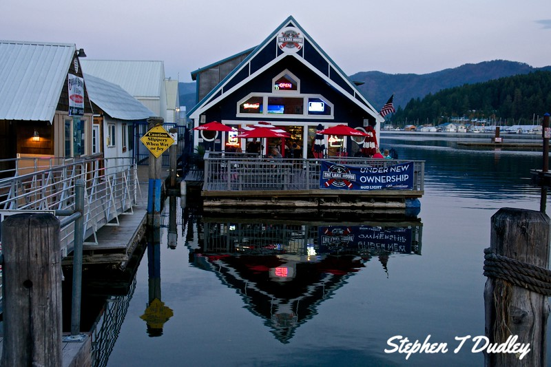The Lake House, Bayview, Lake Pend Oreille