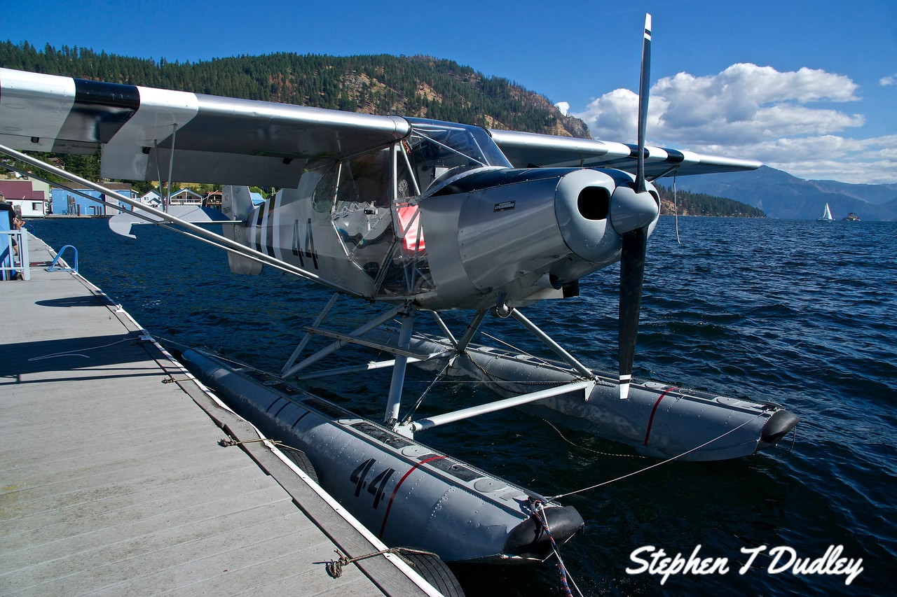 Super Cub at Scenic Bay, Lake Pend Oreille