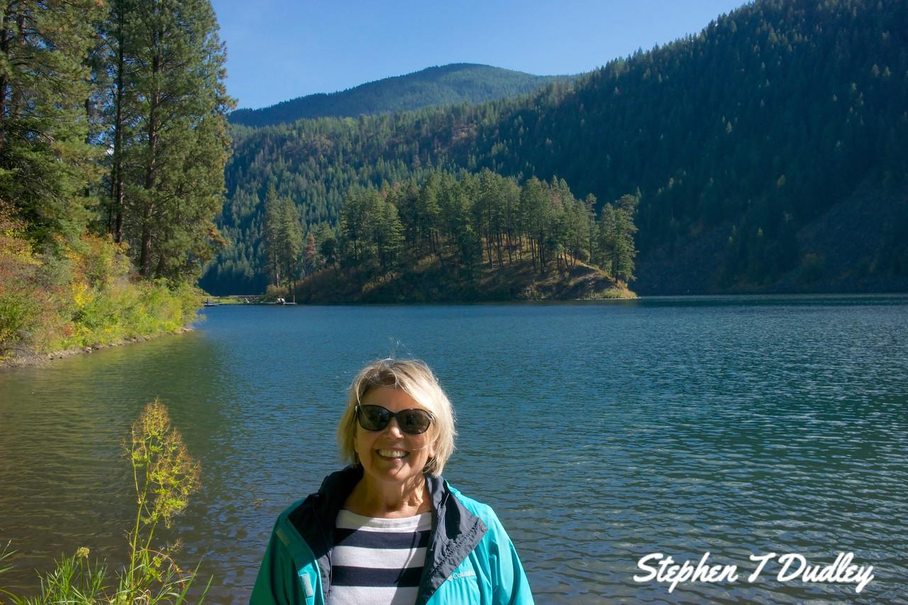 Heidi @ Buttonhook Bay, Lake Pend Oreille
