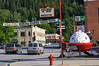 Historic Wallace in northern Idaho boasts its own spaceship in town.