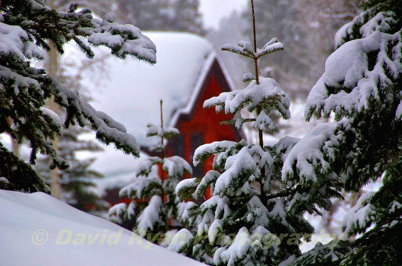 Tamarack Resort, A Cabin in the Winter