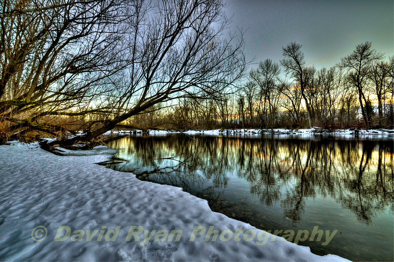 January afternoon on the Boise River