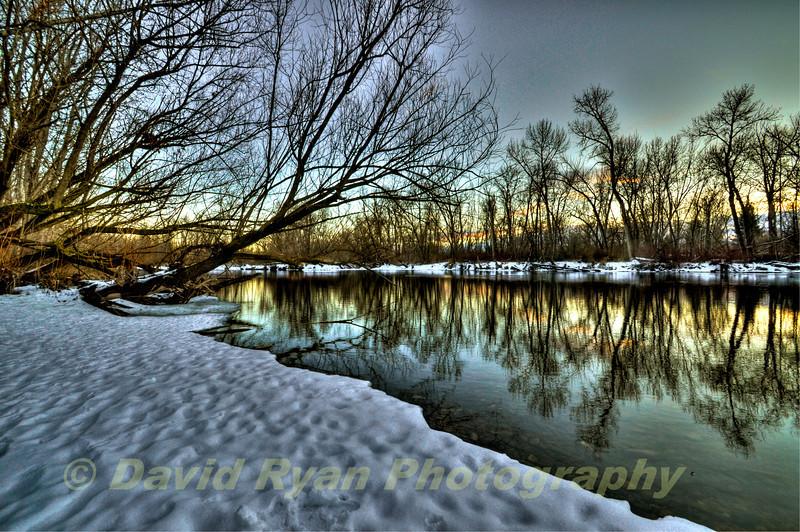 Boise River, Winter