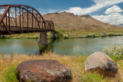 Guffey Bridge, Snake River, Idaho