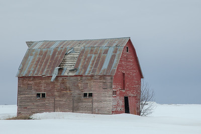 Old Barn, Ashton, Idaho.