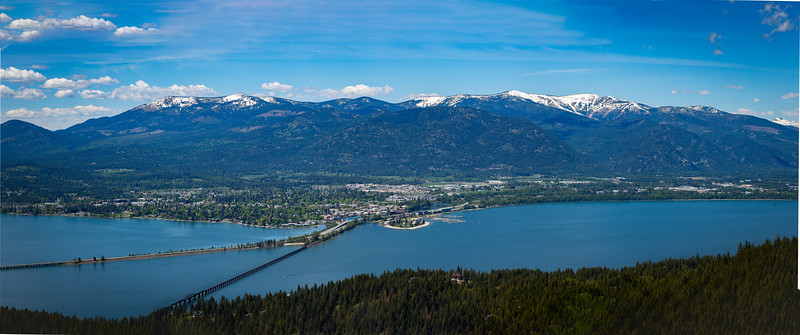Bridges over the Pend Oreille river