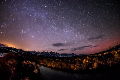 Grand Teton and the Milky Way