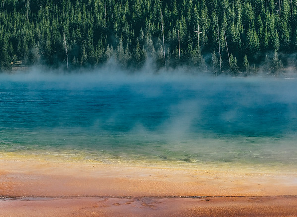 Grand Prismatic Springs, Yellowstone National Park
