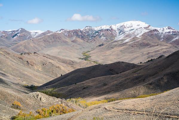 Backside, Antelope Pass / Idaho