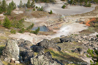Norris Canyon area, Yellowstone