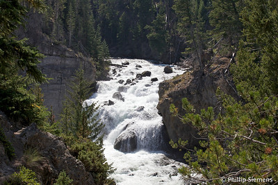 Firehole Falls, Yellowstone