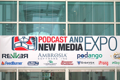 Podcast and New Media Expo 2007, Ontario, CA