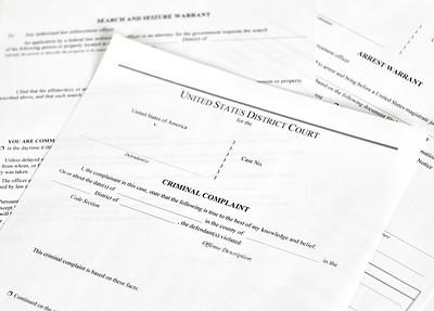 Criminal Complaint Court Papers