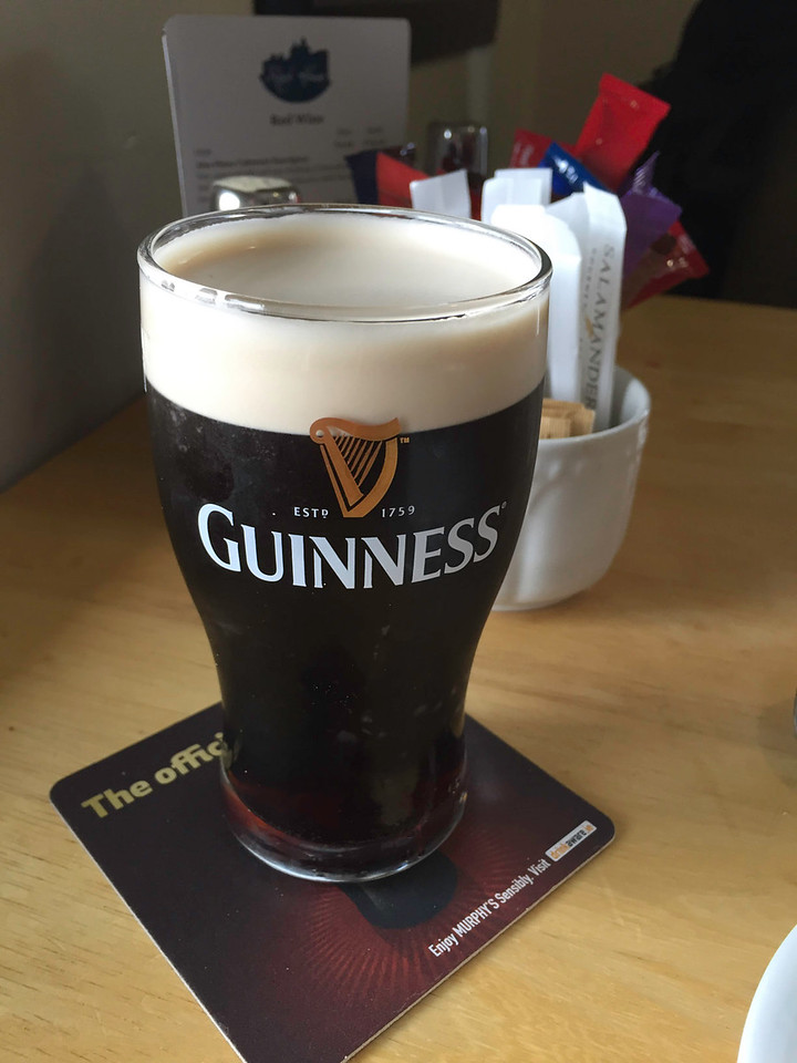 ...and our first Guinness