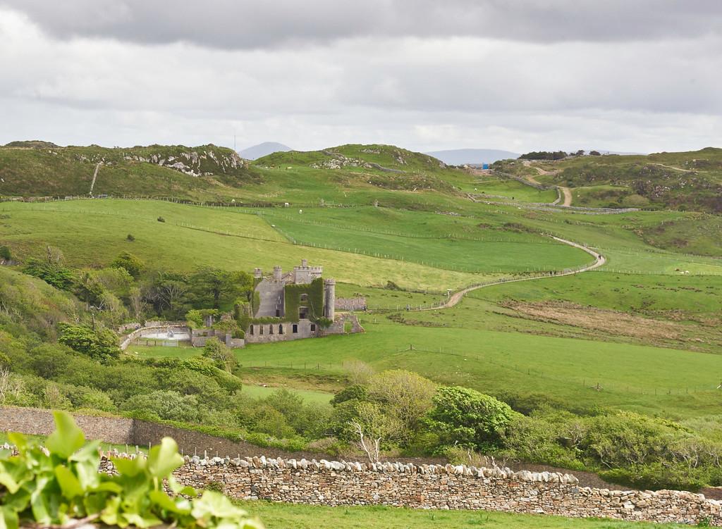 Castle ruins were found everywhere we went throughout Ireland.