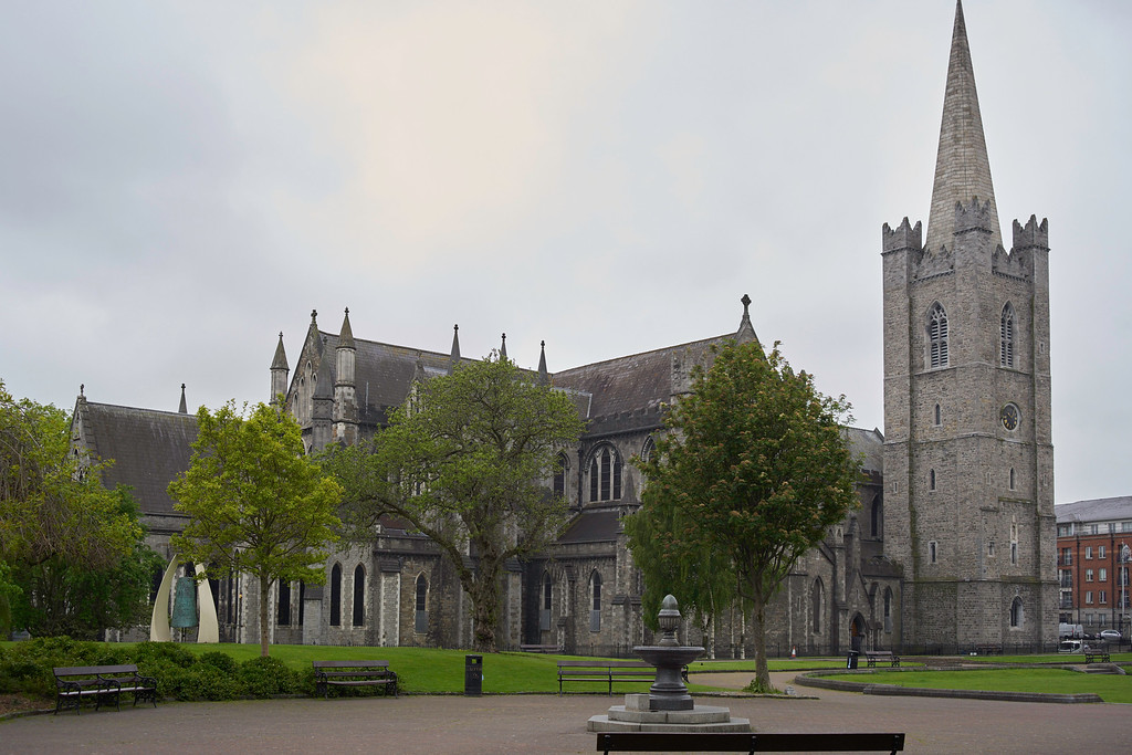 A highlight of Dublin was St. Patrick's Cathedral.