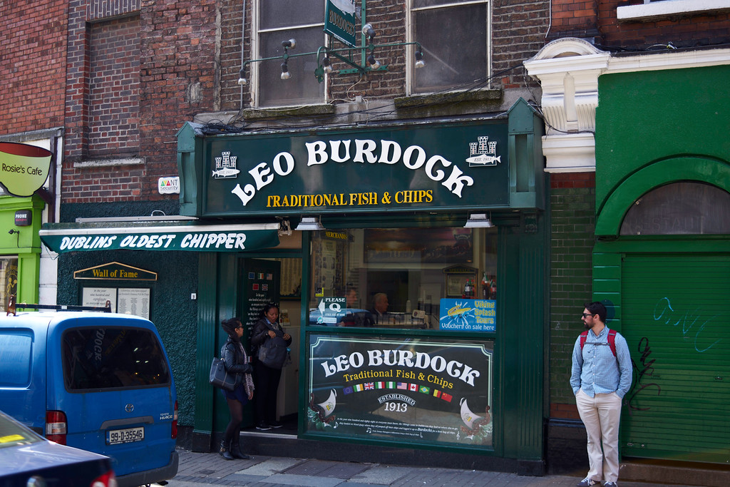 Lunch was fish and chips at the oldest establishment in Dublin.  Lunch was delicious.