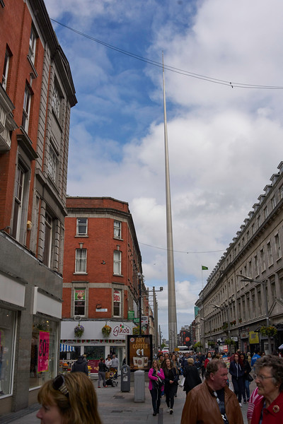 The Needle is a landmark in downtown Dublin