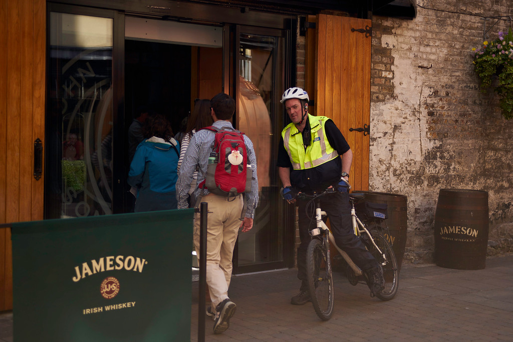 Another priority stop in Dublin was a tour of Jameson Distillery